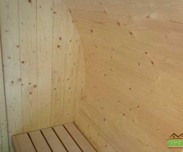 Barrel Sauna Interior 2
