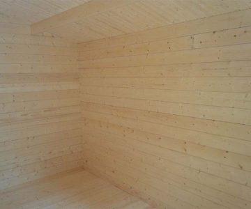 Log Cabin Kit Hideaway2 Interior