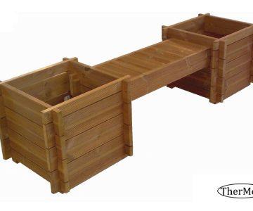 Planter Box Bench Tulip
