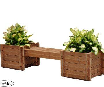 Planter Box Bench Kit Tulip